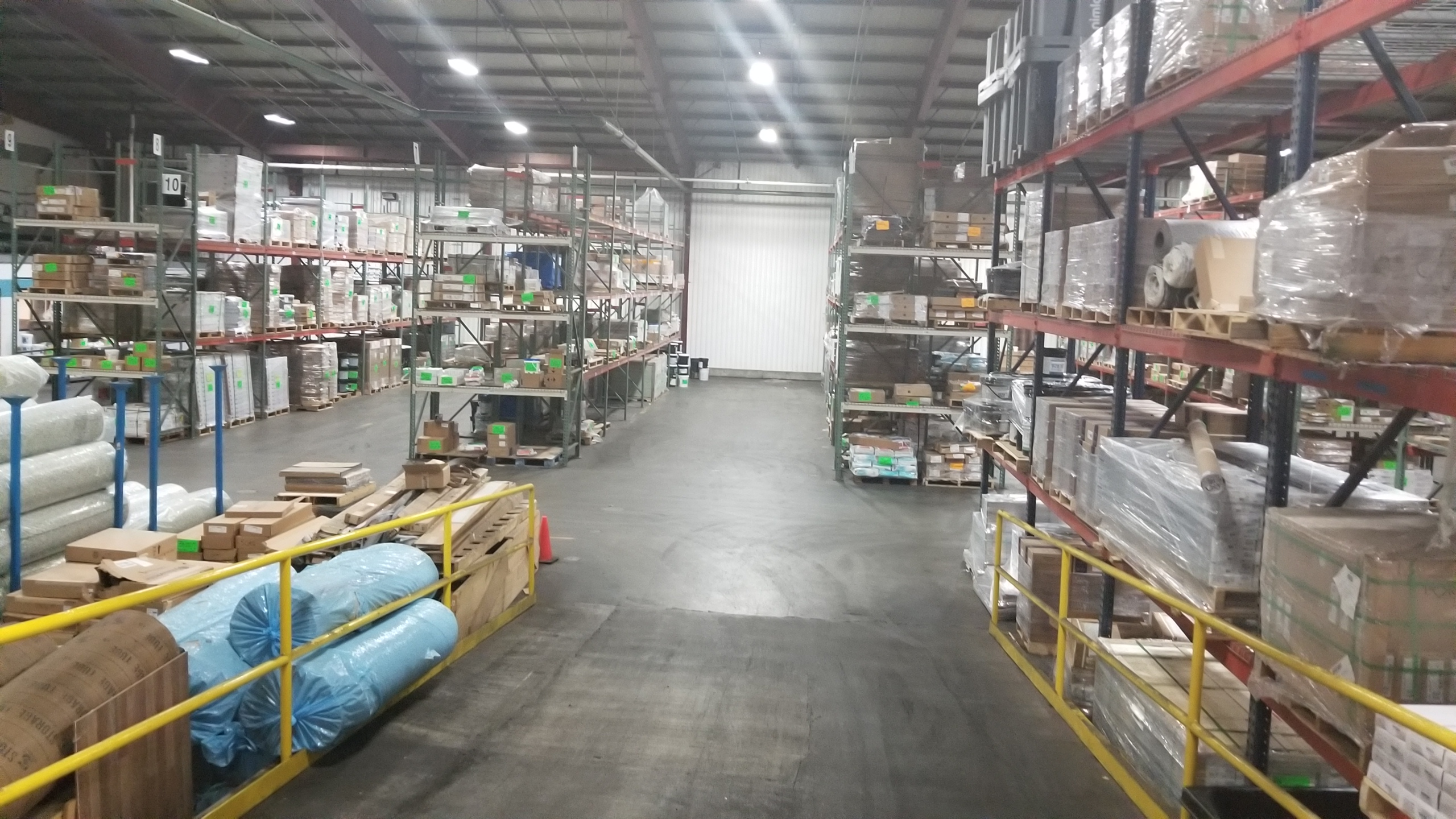 140,000 Sq. Ft. Warehouse space